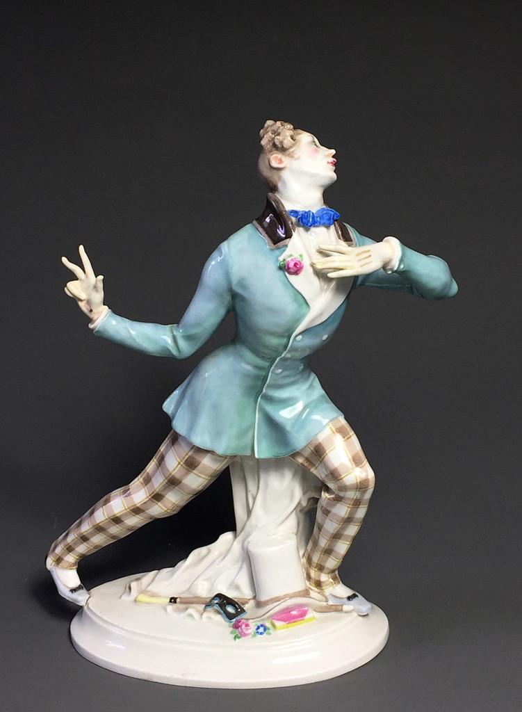 """Eusebius"" Russian Ballet Meissen Porcelain Paul Scheurich 1912"