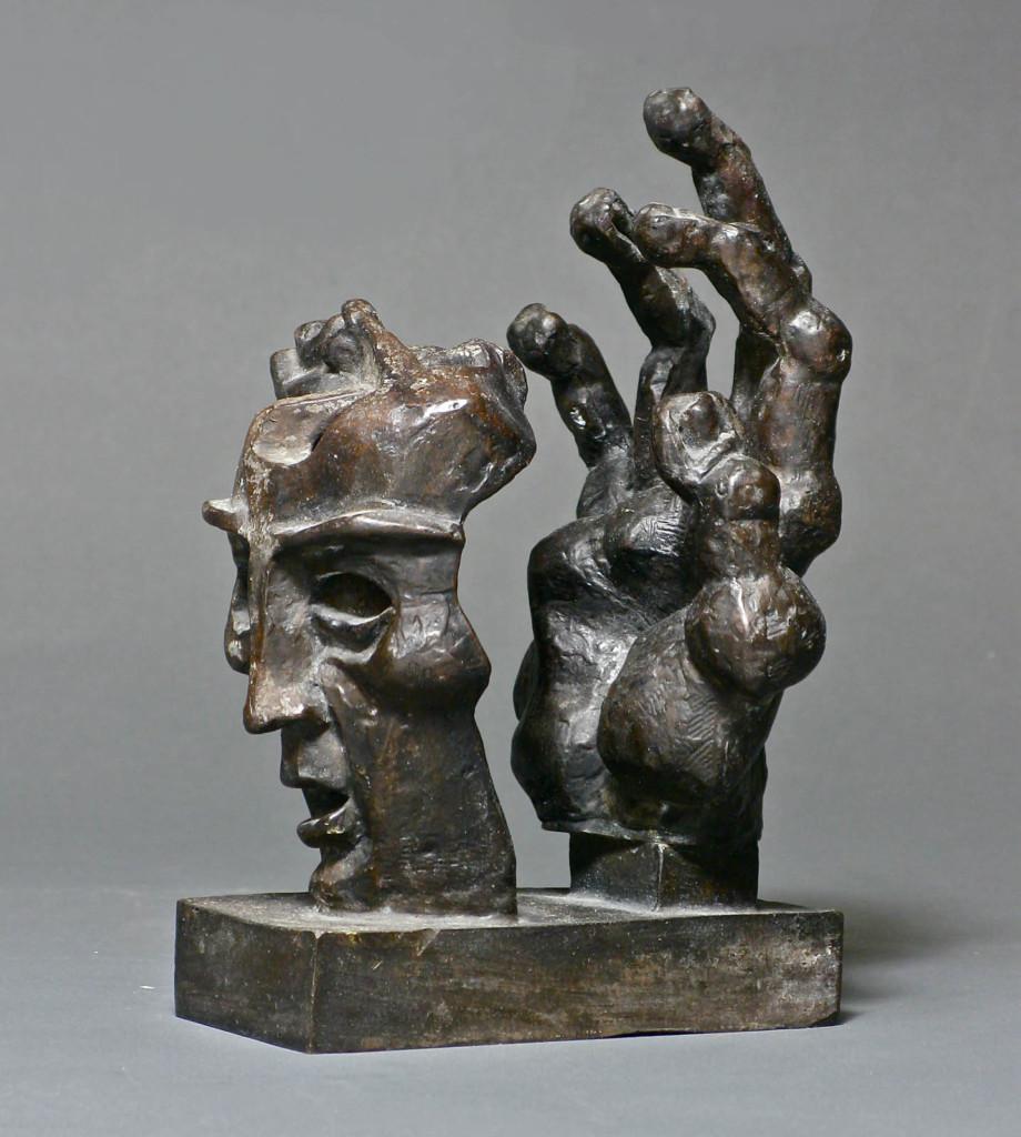 Hand and Mask Ernst Neizvestny (1925 - 2016) 20th Century