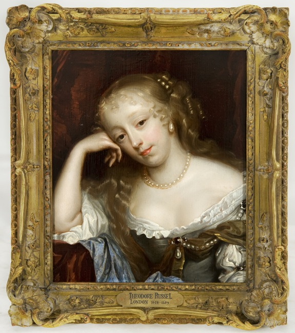 PORTRAIT OF A LADY Attributed to Theodore Russel (London 1614 - 1689) 17th Century