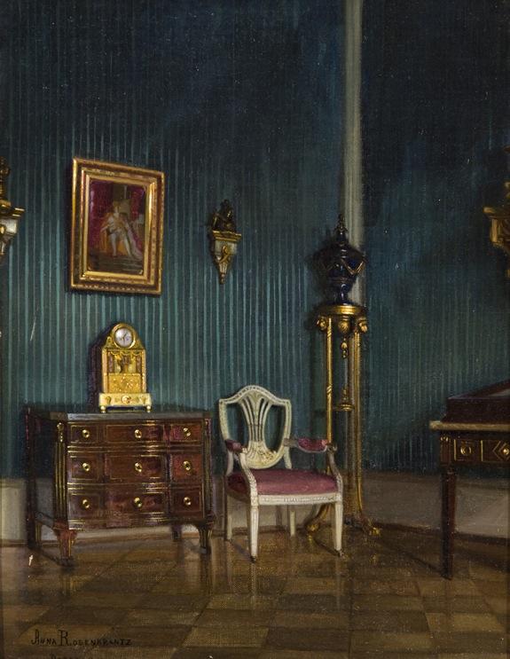 AN INTERIOR, DRESDEN Anna Rosenkrantz 1906