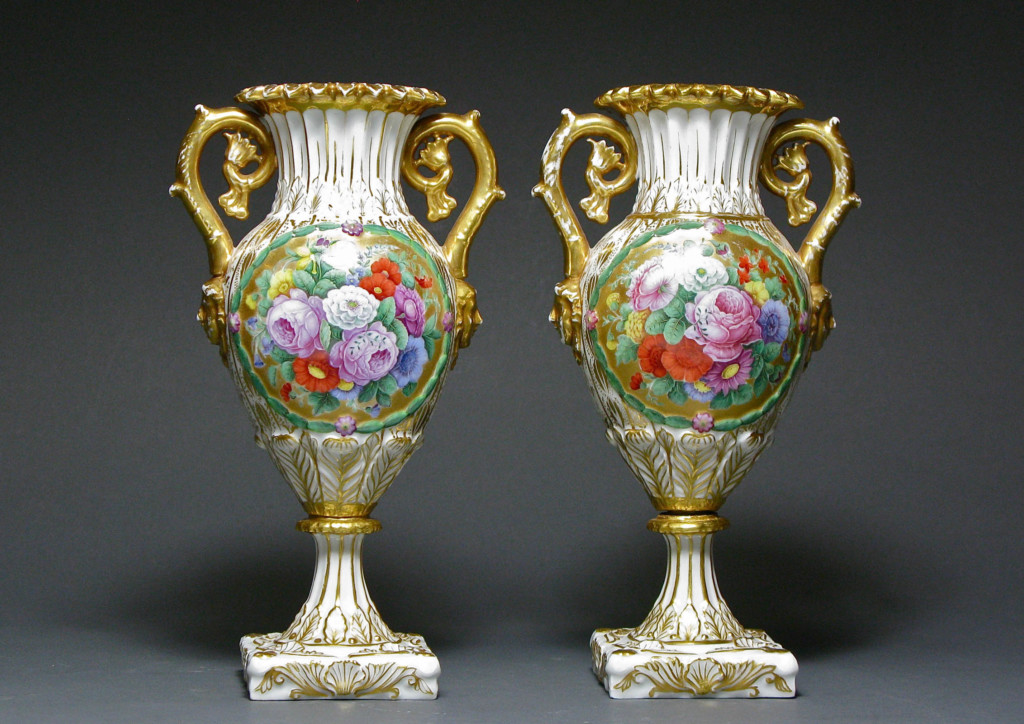 A PAIR OF RUSSIAN VASES Russia 1830s