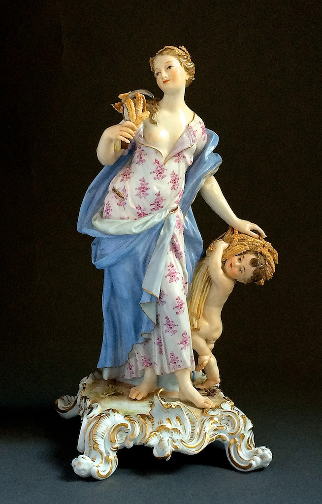 "Meissen Four Seasons ""Summer"" Meissen Germany Circa 1860-1880"