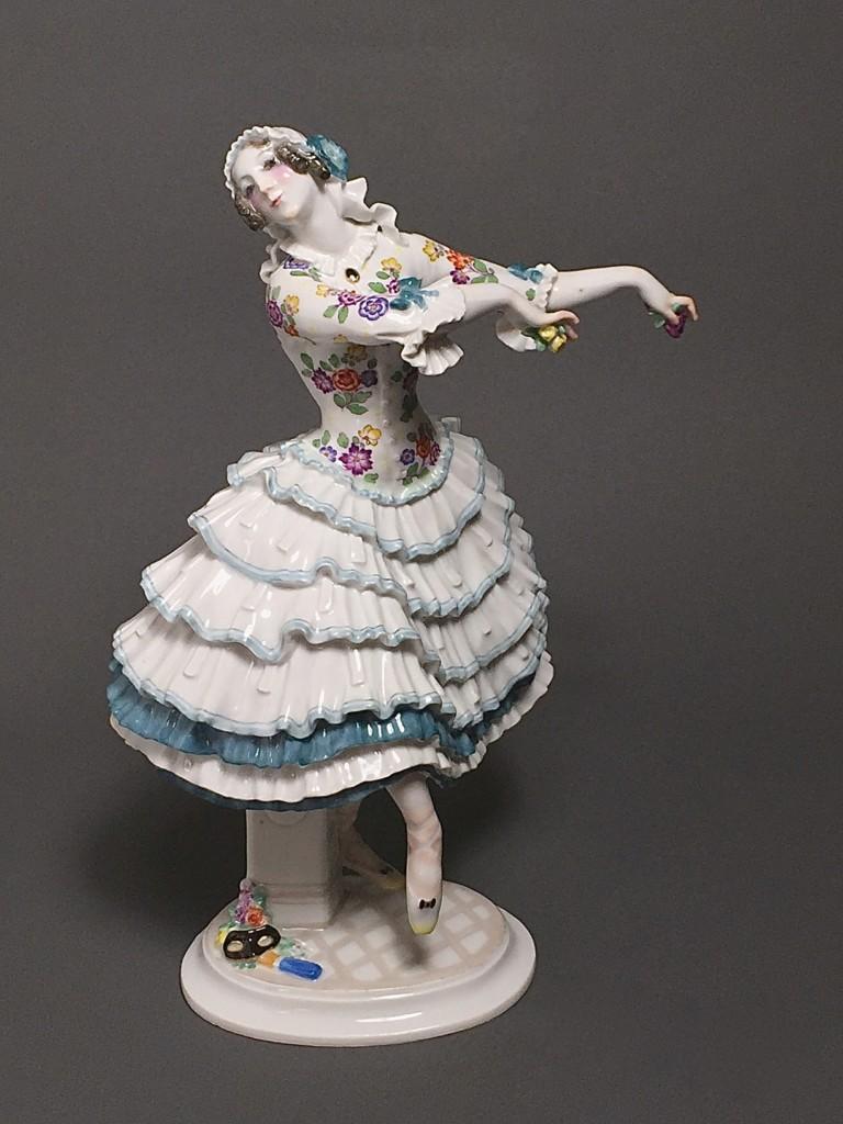 """Chiarina"" Russian Ballet Meissen Paul Scheurich 1913"